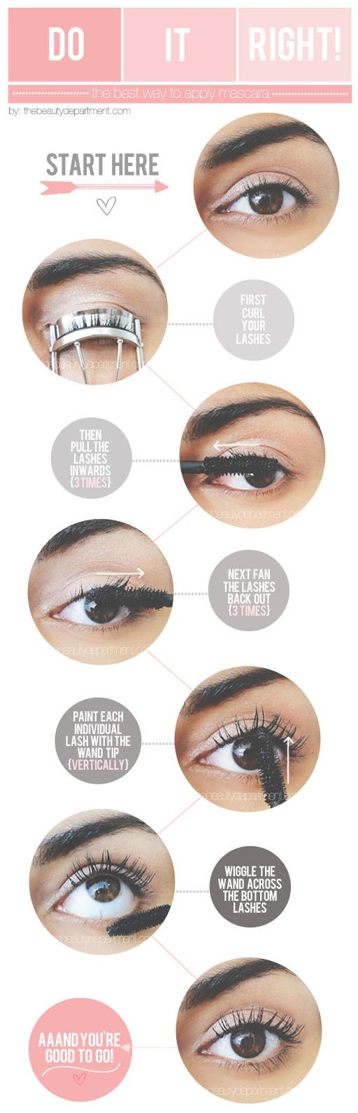 How To Apply Mascara To Make Lashes Fuller And Longer Looking