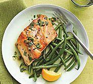 Herb and Lemon Roasted Striped Bass Recipe | MyRecipes.com