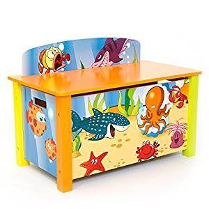 Spielzeugtruhe Unterwasserwelt B X H X T: 66 Cm X 50 Cm X 39 Cm · Piraten  KinderzimmerFisch KinderzimmerAufbewahrungsbox ...