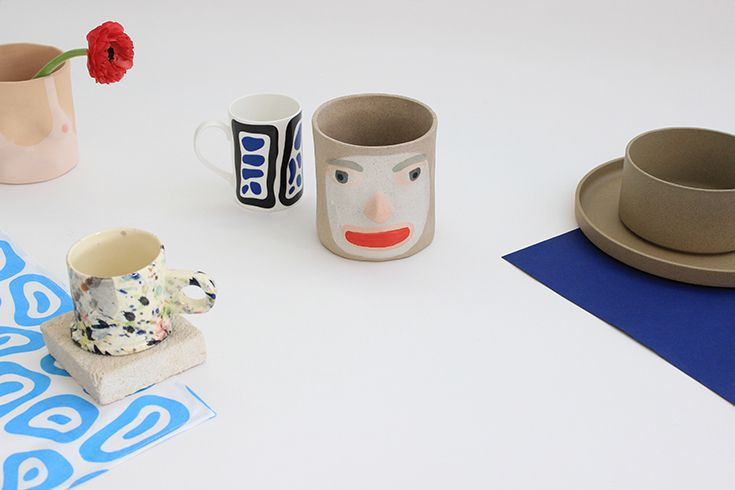 Ceramic featuring Group Partner, Third Drawer Down Studio and Peter Shire goodness.