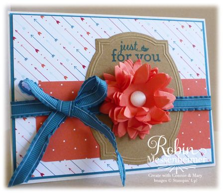 RobinsCraftRoom.comTags Ideas, Fluffy Flower, Cards Ideas, Class Ideas, Layered Flower, Cards Stuff, Workshop Ideas, Cards Cards, Diy Cards