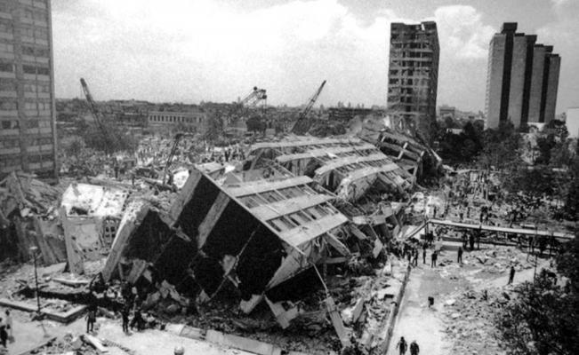 Palabras e imágenes para recordar el terremoto del 85 | El Universal
