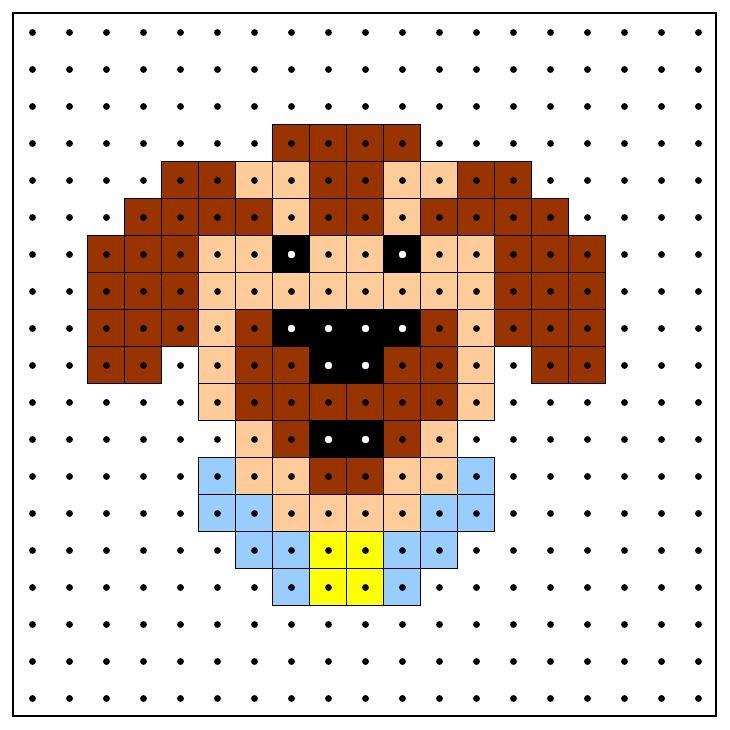KleuterDigitaal - wb kralenplank hond 02