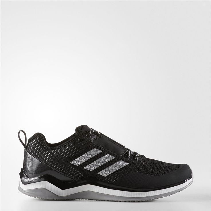 Adidas Speed Trainer 3 Shoes (Core Black / Metallic Silver / Running White)