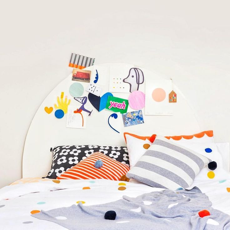 Fun boys bed by Rachel Castle.