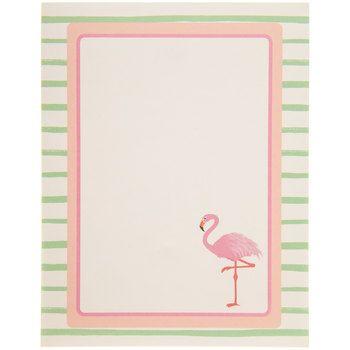 Flamingo Magnetic Notepad