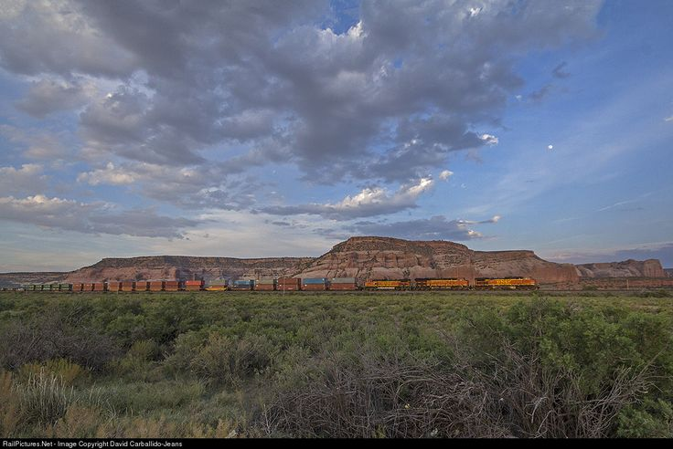 RailPictures.Net Photo: BNSF 4857 BNSF Railway GE C44-9W (Dash 9-44CW) at Lupton, Arizona by David Carballido-Jeans