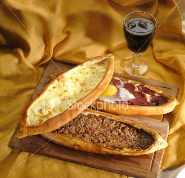 Pide - A Turkish staple, great budget food and, more importantly, yummy! :)