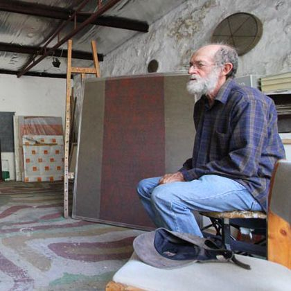 """Originally from Mogliano Italy, a chance sighting of an advertisement asking """"Do you wish to come and work in Australia?"""" led him to live in among the karri trees of Pemberton in the 1970s. Today he lives in Lake Clifton.  Galliano is one of five prominent artists living and working in the South West drawn together by curator Josh Thomason for an exclusive exhibition at Collie Art Gallery – Remnants – on show 16 January to 21 February 2016."""