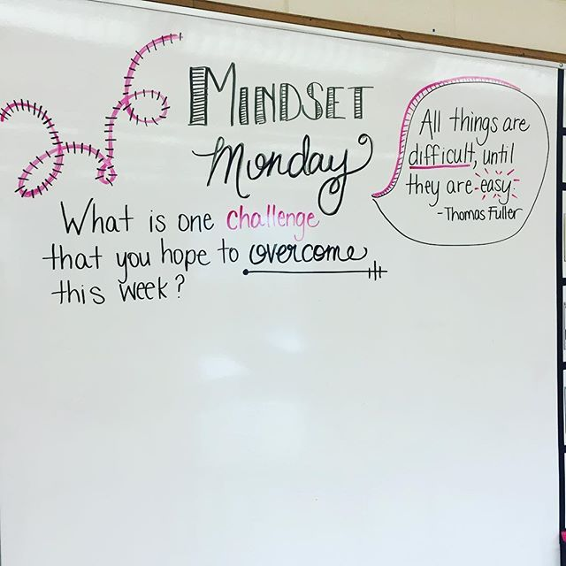 Let's do this Monday!.!.!#miss5thswhiteboard #teachersofinstagram #iteach7th…
