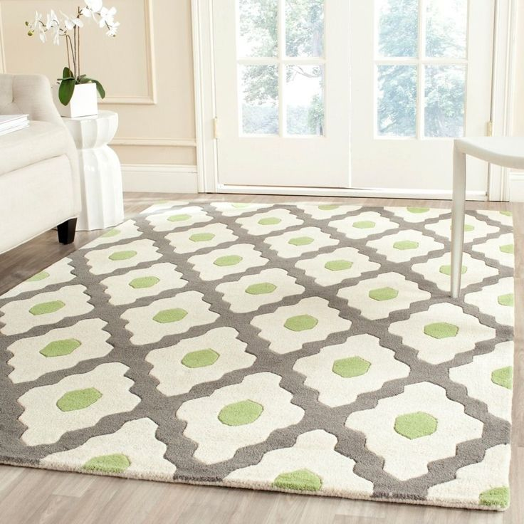 Marvelous Safavieh Handmade Moroccan Chatham Dark Gray/ Ivory Contemporary Wool Rug X    Overstock™ Shopping   Great Deals On Safavieh   Rugs
