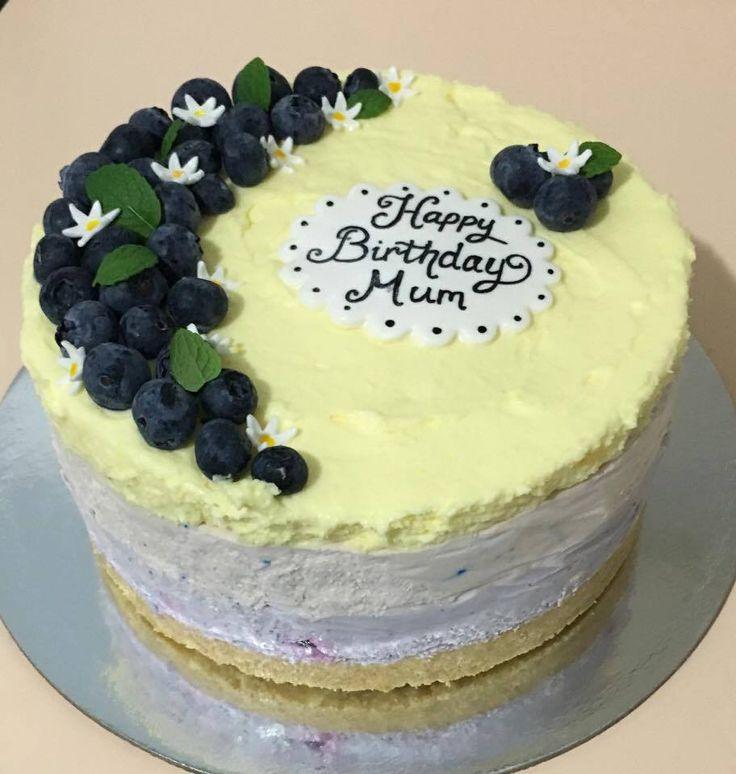 Cheesecake #cheesecake #birthday #mum #blueberry #layers #sweetemssweets #fresh