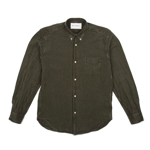OUR LEGACY FOREST GREEN SHIRT | EAST DANE SALE