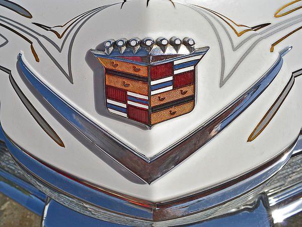 Cadillac Hood Emblem