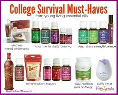 College survival must haves   natural health for college students   nontoxic heath   essential oils   young living   the confident mom