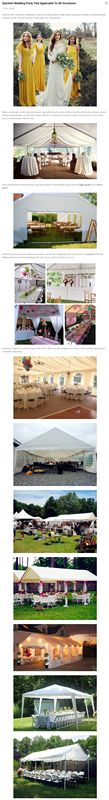 Wedding party tent need? why not choose one from #Quictent , quictent offers kinds of tents to make your wedding party wonderful! and just starts from $79.99 & freeshipping to #TheUS #TheUK within #3-7 works days. #Quictent #discount #PartyTent #WeddingParty #OutdoorParty #Festival #Party #Gatherings #Families #Friends #HappyTime  #carport  #specialoffers #White #BigParty #SmallParty get here: https://goo.gl/nkFGMy