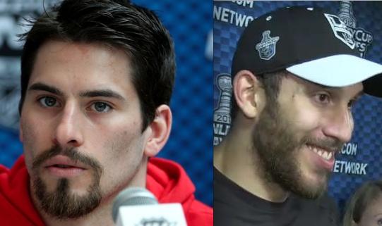 Beard Competition - Adam Henrique vs. Dwight King