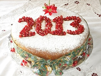 Greek Vassilopita (New Year Cake) 2013