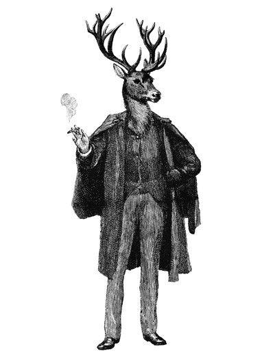 Buck | altered engraving | Dan Hillier