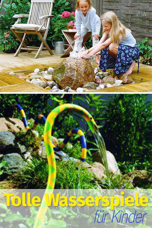 Beliebt Wasserspiel selber bauen | Kinder & Hobby DIY | Wasserspiele AR01