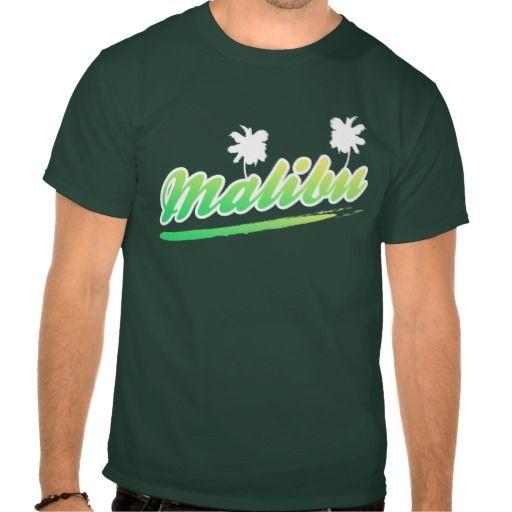 #Malibu  Retro Palm Tree T-Shirt. #California #Cali #tshirts
