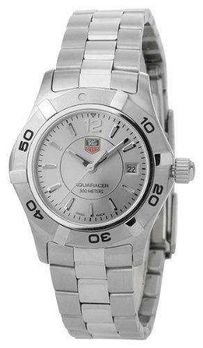 TAG Heuer Women's WAF1412.BA0823 Aquaracer Ladies Watch - List price: $1,700.00 Price: $1,157.47 Saving: $542.53 (32%)