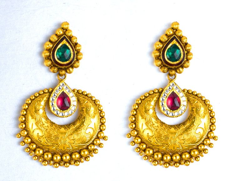 in buy bollywoodkart designer india black golden earrings es online com