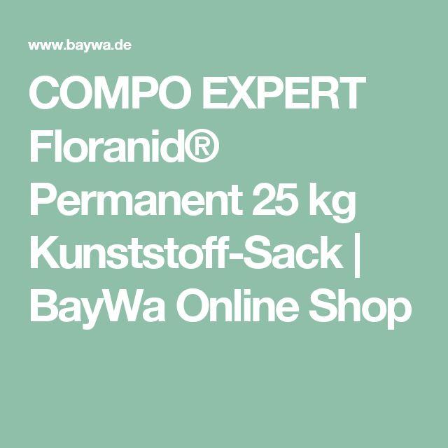 COMPO EXPERT Floranid® Permanent 25 kg Kunststoff-Sack | BayWa Online Shop  Kalihaltig - gut für Winterdüngung