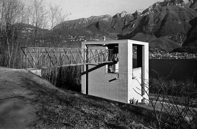 Casa Bianchi | 1971-1973 | Riva San Vitale, Ticino, Switzerland | Mario Botta | photo by Alo Zanetta