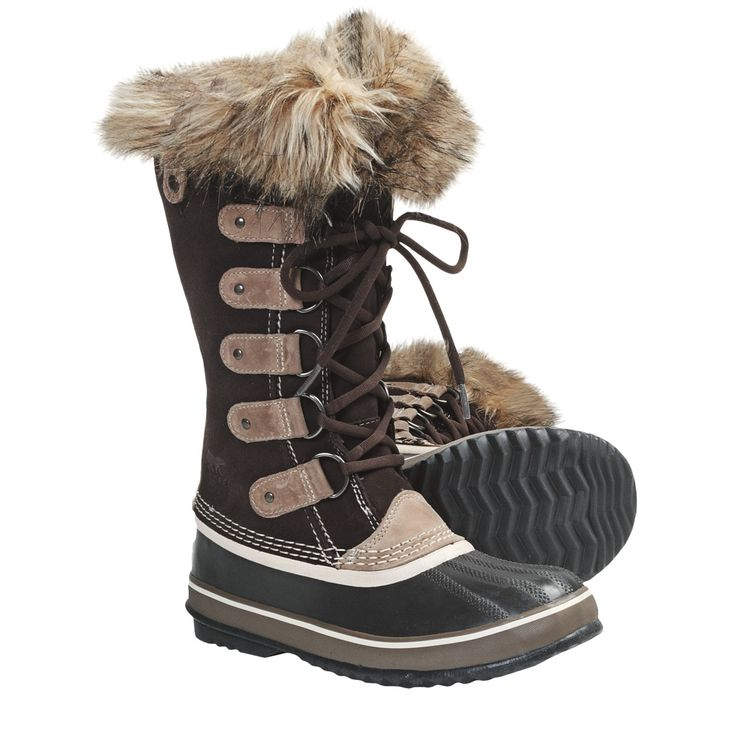 Ladies Winter Boots | Sorel Joan of Arctic Winter Boots - Waterproof (For Women) in Hawk