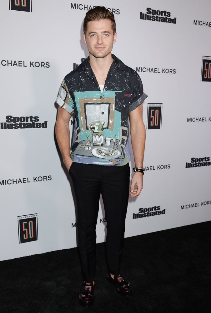 The Best Dressed Men Of The Week: Robbie Rogers at the Sports Illustrated Fashionable 50 Party, LA. #bestdressedmen #robbierogers