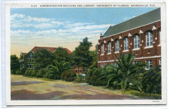 Library Administration Building University Florida Gainsville