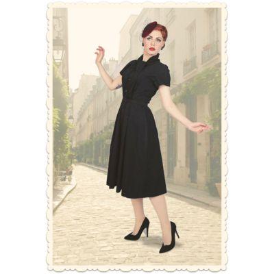 """Robe rétro """"La Parisienne"""" par Von 50', ré-édition du modèle """"Virevolte"""" créé en 1955 par Christian Dior - via missretrochic.com"""