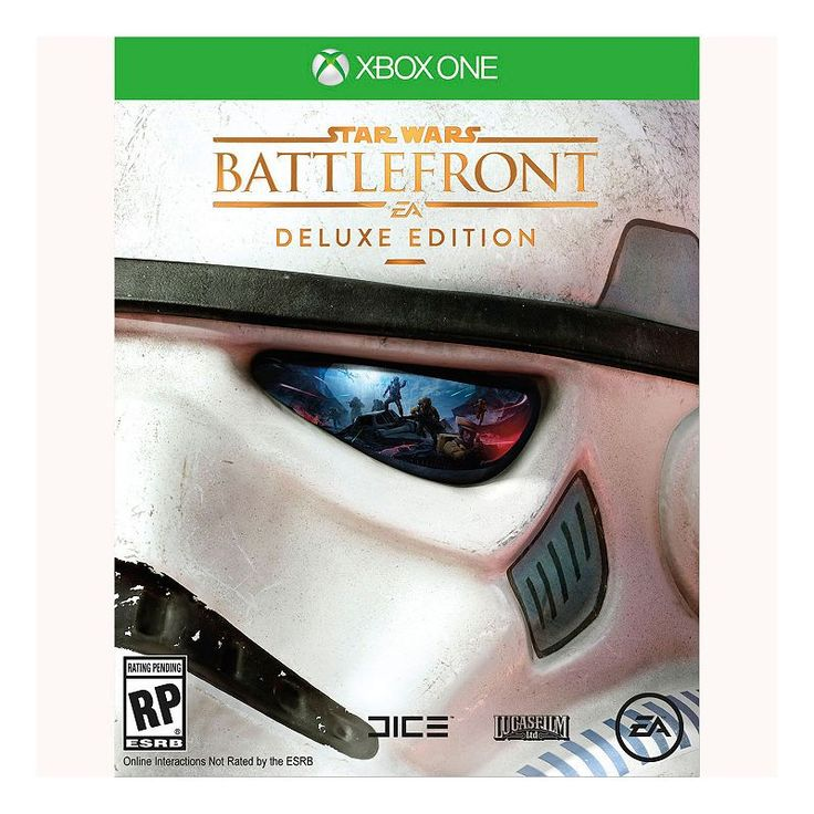 Star Wars Battlefront: Deluxe Edition for Xbox One, Multicolor