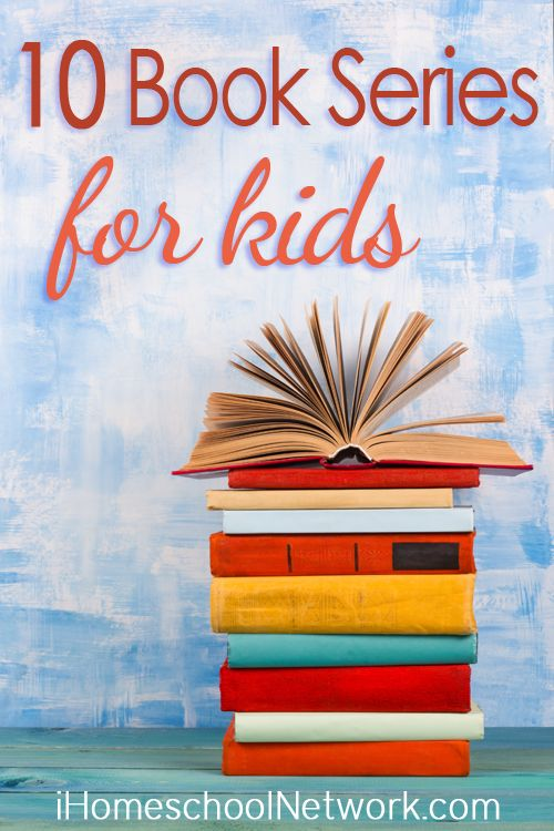 10 Book Series to Enjoy with Your Children iHomeschool Network http://ihomeschoolnetwork.com/book-series-for-kids/