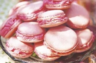 Pink macaroons with a rose flavoured buttercream filling - Woman's Weekly on goodtoknow.co.uk