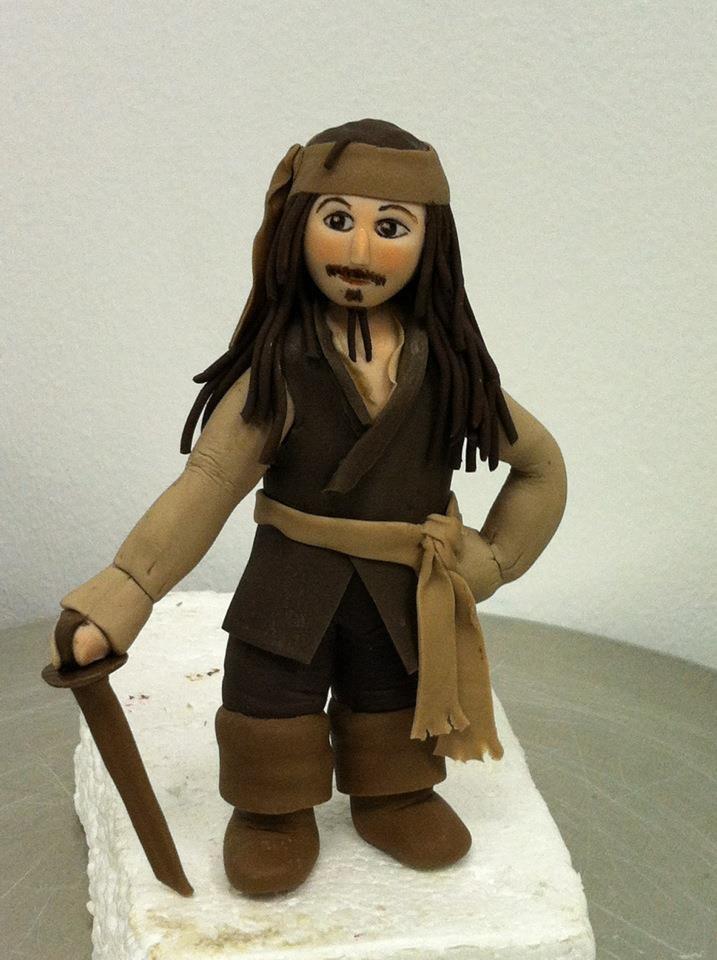Captain Jack Sparrow by Truly Custom Cakery