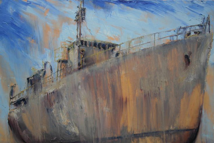 """""""Whyalla"""" 120cm x 180cm. For more information please contact REDSEA Gallery on (07) 3162 2230 © Joseph Rolella"""