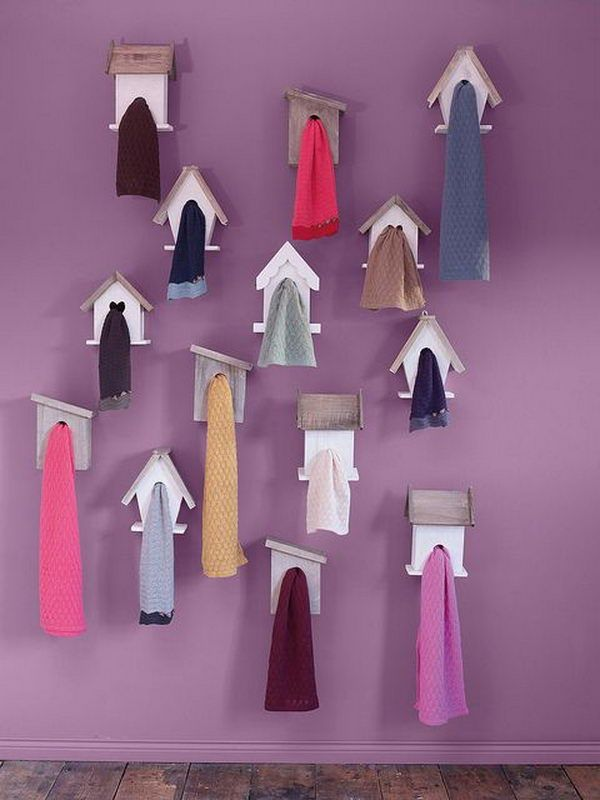 Creative Scarf Storage And Display Ideas. Scarves Are Not Only Useful  Accessories That Can Be Used For Warmth Against The Winter Chill.
