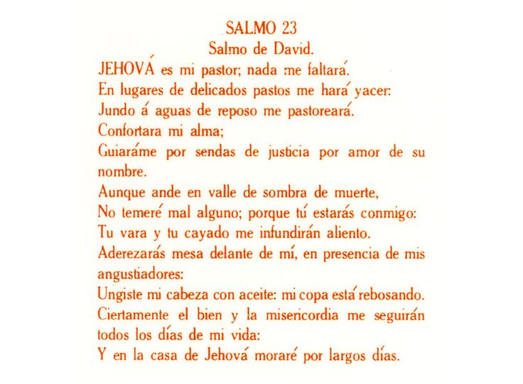 Z 126 Salmo de David Prayer