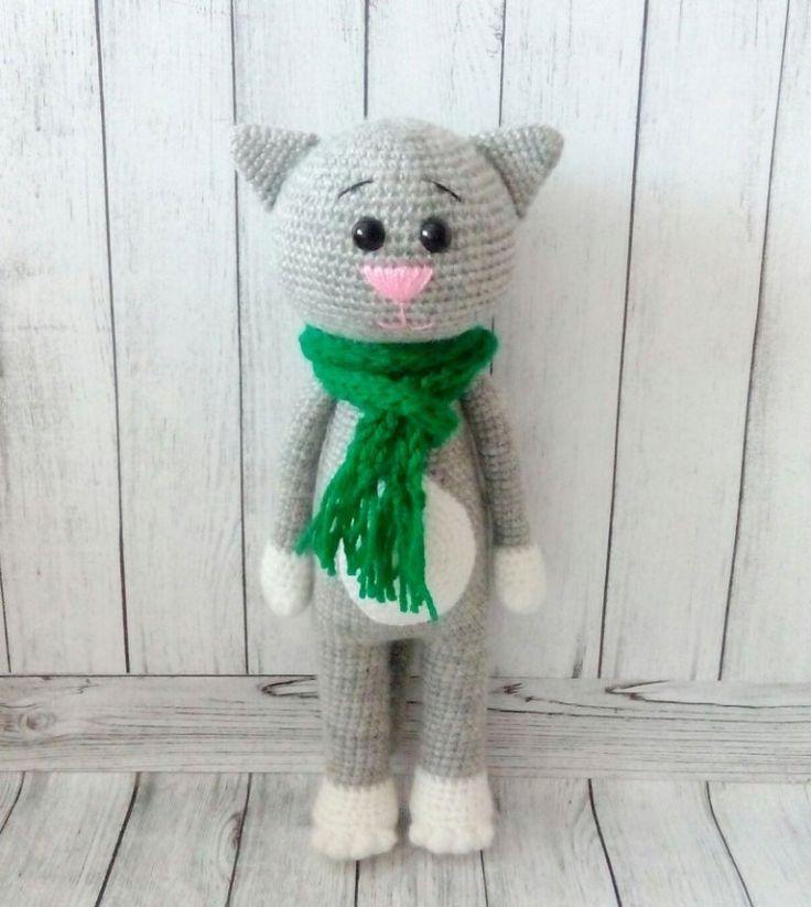 Amigurumi crochet cat patterns