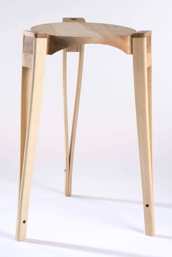 "adayinthelandofnobody:  ""Crutch Stool"" by Alex Chow and Matt Muller"