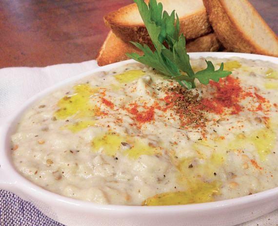 Salată de vinete cu iaurt   Retete culinare - Romanesti si din Bucataria internationala
