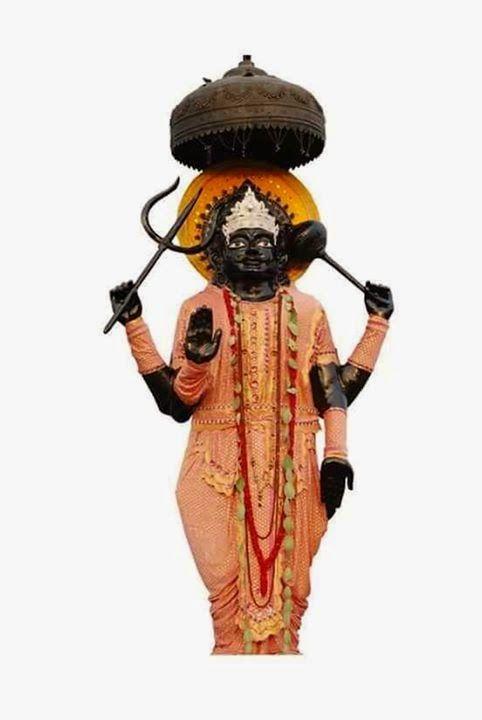 Spiritual Photos: Painting of Shree Shani Dev