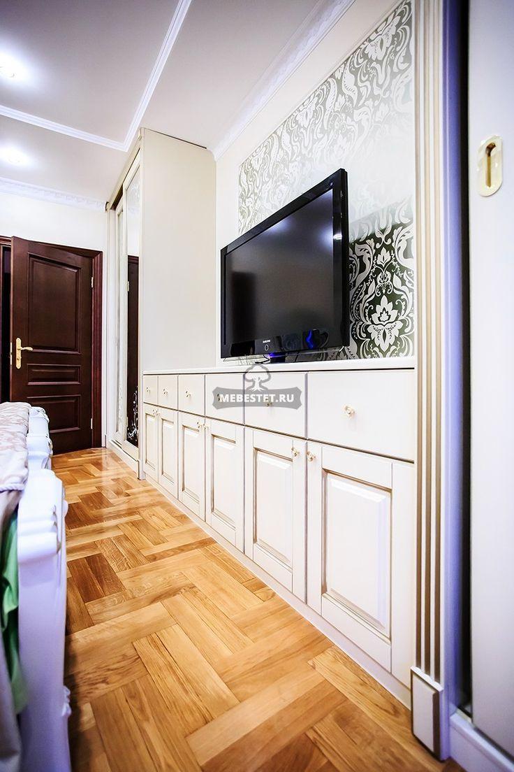 Шкафы в спальню классика / Мебель на заказ / Меб Эстет
