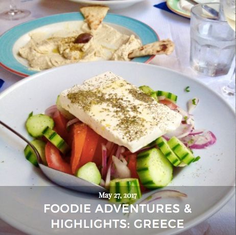 Check out my foodie adventures in Greece on my blog! #turquoiseblogmtl #travelblog #traveladdict #foodieblog #foodlover #foodie #greece #greecetravel #travelgreece #octopus #grilledoctopus