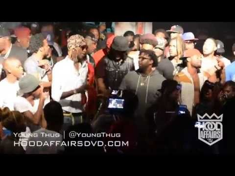 Young Thug Celebrates His Birthday With Birdman And Performs At The Palace