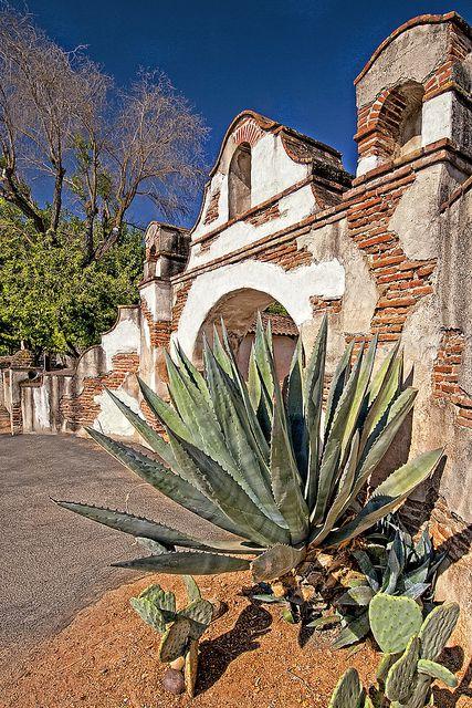 San Miguel Mission, San Miguel, San Luis Obispo, California by susanto