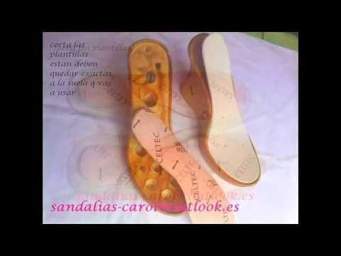 sandalias tejidas en crochet paso a paso mod. Estrella D ' Carol - YouTube
