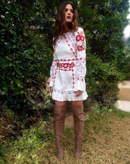 Μαίρη Συνατσάκη: Φέρνει την άνοιξη με το πιο ρομαντικό, boho φόρεμα - JoyTV